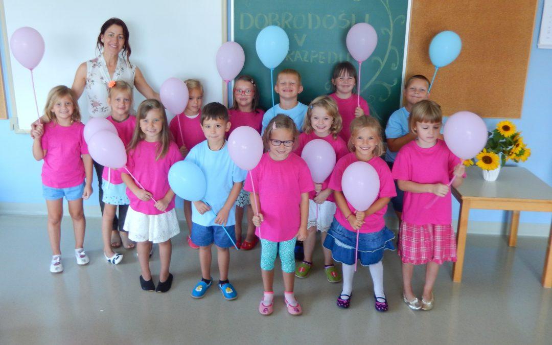 Prvi šolski dan za prvošolce